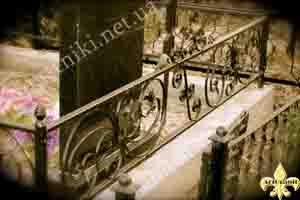 оградка на могилу