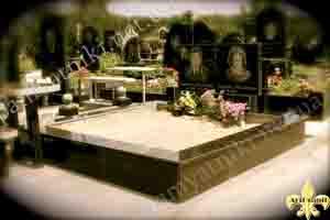 обложить плиткой цоколь на кладбище