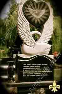 установка памятника для одного