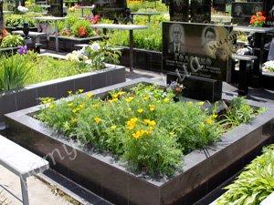 Облицовка на кладбище