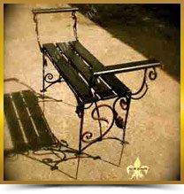 Металические столы и лавочки
