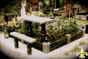 заказать гранитный стол на кладбище
